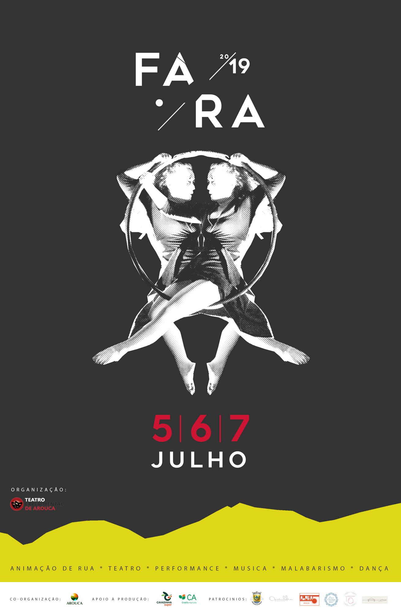 Cartaz  Festival de Artes de Rua de Arouca